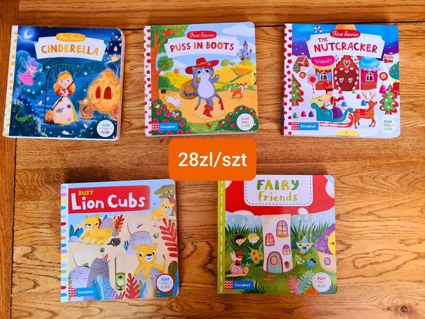 Interaktywne angielskie książeczki dla dzieci
