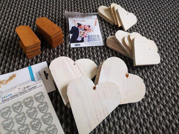 Ozdoby dodatki wesele