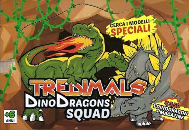Coleção Tredimals Dino Dragons Squad