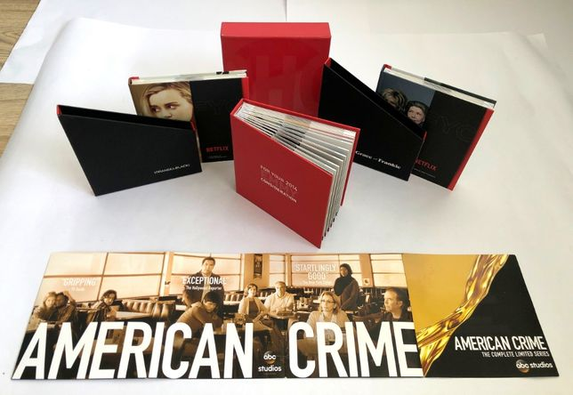 Zestaw Netflix DVD. Dla kolekcjonera Dexter, Califonication. PREZENT