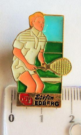 Odznaka Fuji fotografia Stefan Edberg