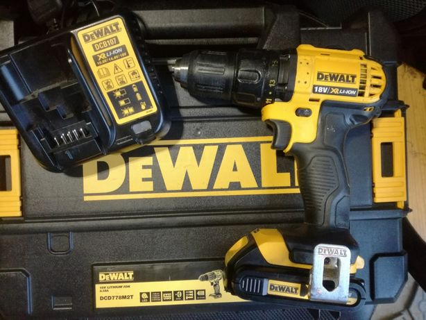 Wkrętarka Dewalt DCD780