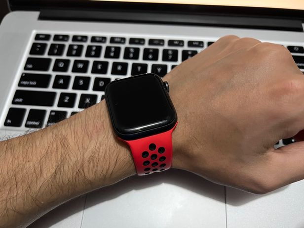 Apple Watch Series 6 Preto - 44mm c/Garantia
