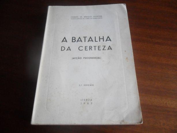 """""""A Batalha da Certeza"""" Acção Psicossocial de Hermes de Araújo Oliveira"""