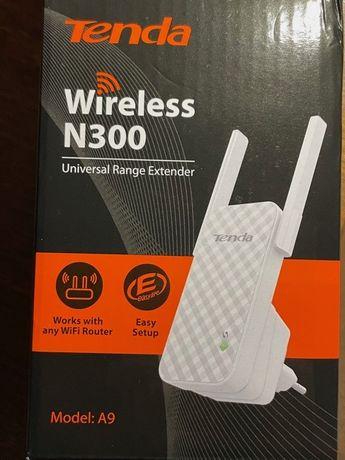Wzmacniacz sygnału WiFi TENDA N300