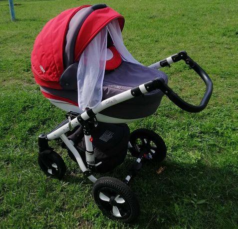 Срочно!Детская коляска Adamex Galactic 2 в 1 + манеж Carello в Подарок