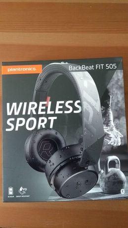 Słuchawki Bluetooth  Plantronics Backbeat Fit 505  jak nowe