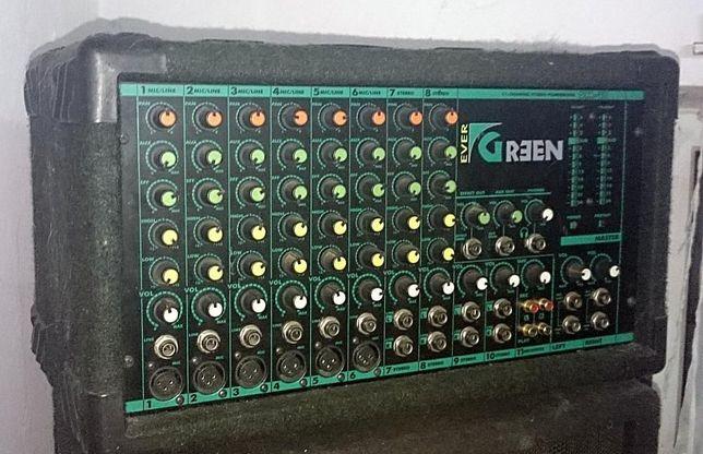 Powermixer powermikser wzmacniacz LDM EVERGREEN 2x200W smx-11