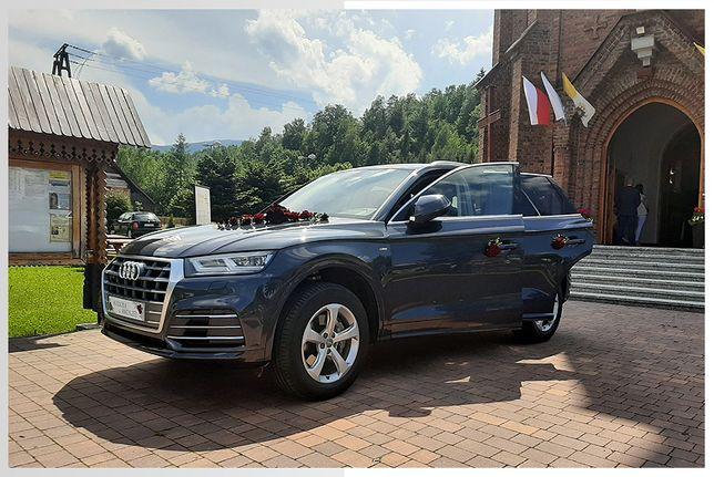Auto do ślubu, Auto na wesele, Nowe Audi Q5 do ślubu! Żywiec okolice
