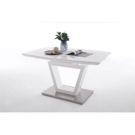 Biały Stół rozkładany 140/180x80