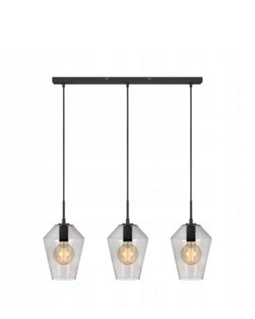 OKAZJA! Nowa lampa wisząca vintage retro loft czarna szara -50% taniej