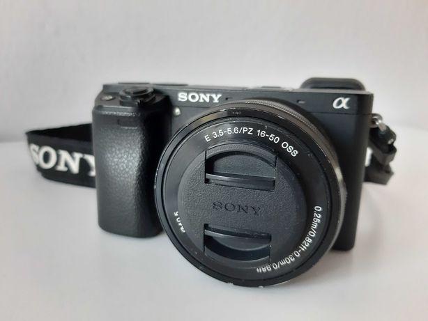 Aparat Sony a6300 + Sony 16-50mm