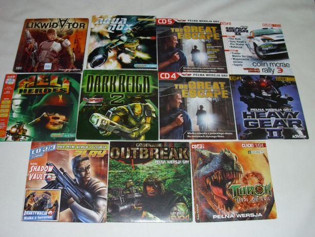 Heli Heroes, Turok, Aquanox, Dark Reign 2, Heavy Gear 2 – Gry PC