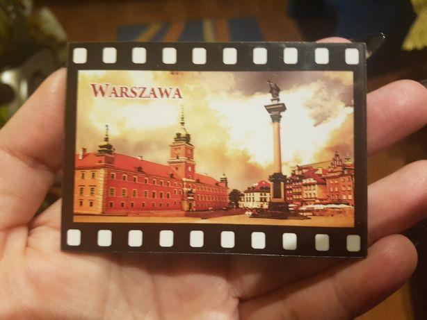 Śliczny nowy magnes na lodówkę Warszawa