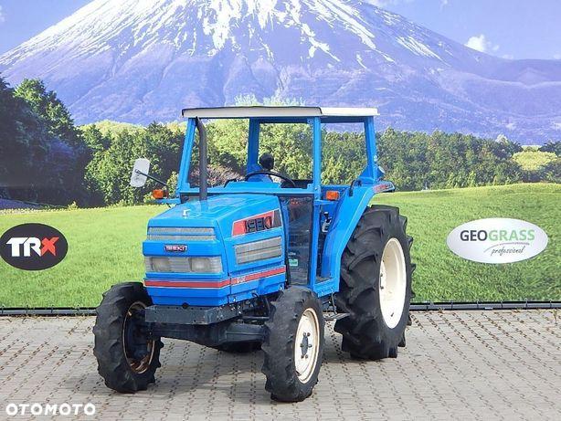 Iseki TA337  Mały traktor 33KM napęd 4x4 japoński ciągnik WSPOMAGANIE