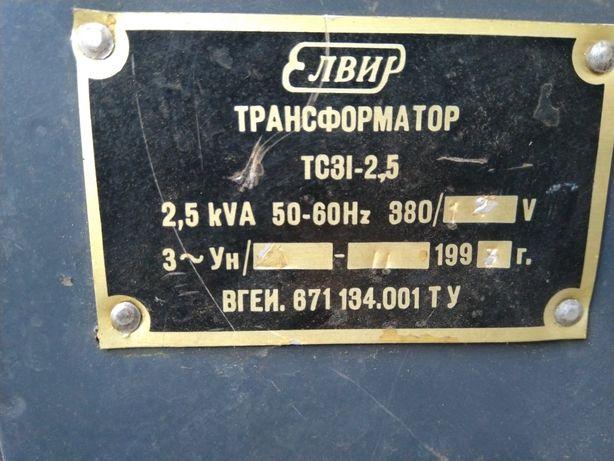 Трансформатор 380/12В