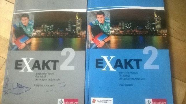 exakt 2 ćwiczenia i podręcznik język niemiecki