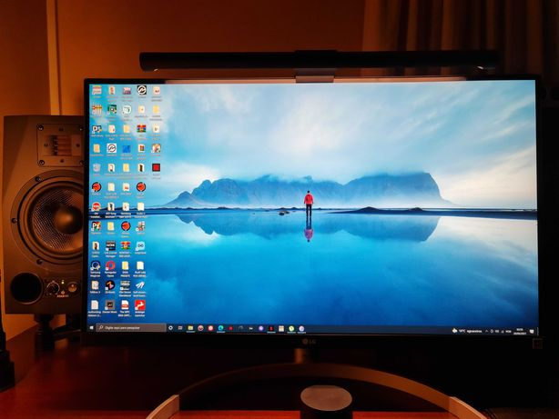 "Monitor LG 27"" 4K HDR 10bit 99% sRGB (Como Novo)"