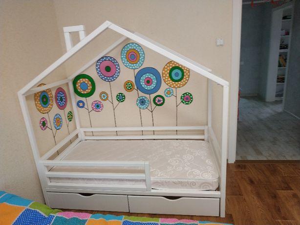 Детская кровать, Кроватка домик. В НАЛИЧИИ!!! 160*80см