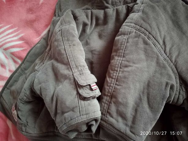 Куртка детская на меху.