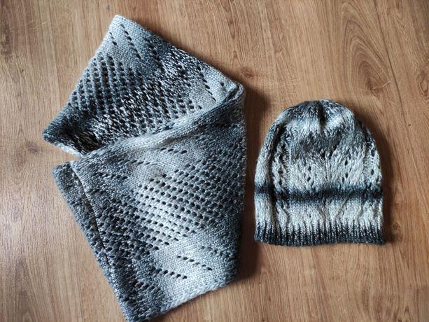 Zestaw szalik + czapka