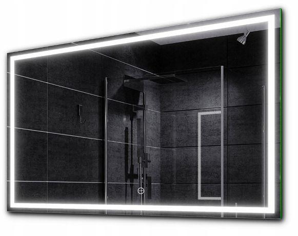 Lustro łazienkowe podświetlane Alasta 80 x 60 cm