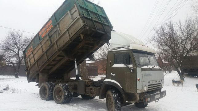 Настоящий КАМАЗ колхозник, 15 т, 25 куб, борта 2 м, от Хозяина.!