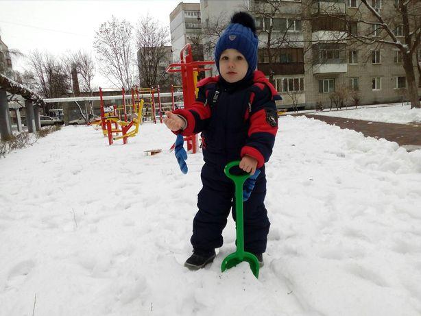 Зимний комбинезон, парка на зиму 2Т, Columbia,next