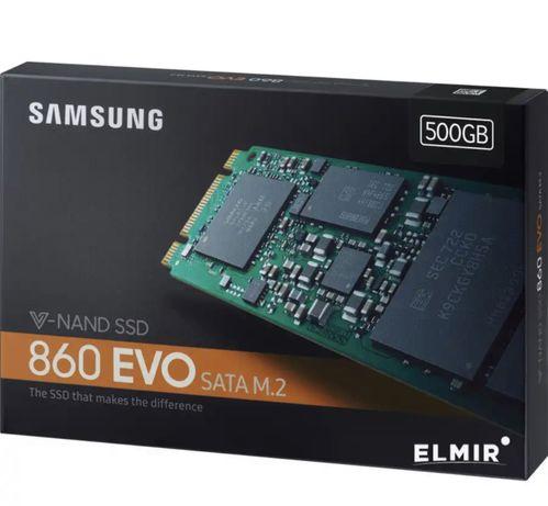 SSD накопитель 500GB Samsung EVO 860