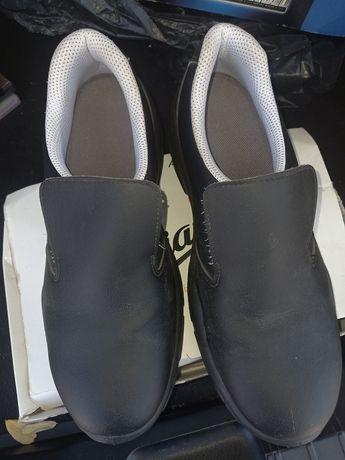 Sapatos de biqueira de aço