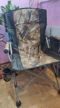Кресло раскладное, стул для рыбалки, кемпинга (нагрузка 150 кг)