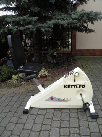 Poziomy magnetyczny rower treningowy firmy kettler-masywny-mocny