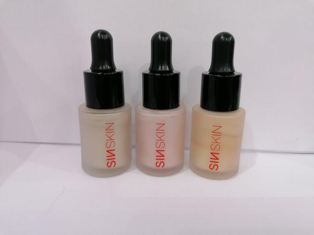 SinSkin Liquid Highlighter Rozświetlacze w Płynie.100% NOWE!