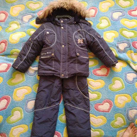 Зимняя курточка и комбинизон