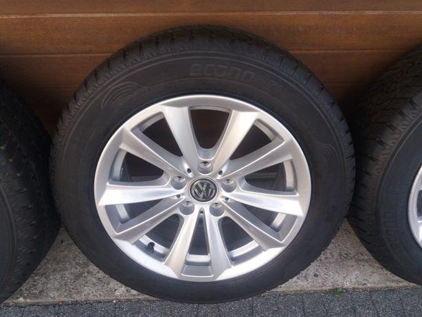 Nowe koła 215.60.17 C Dunlop. Multivan.carawelle T5. T6 transporter
