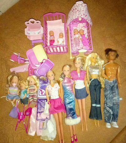 Набор кукол и аксессуаров
