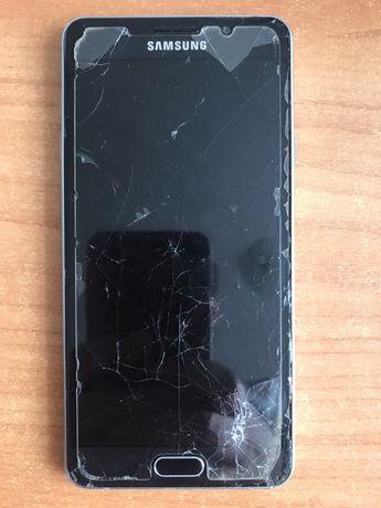 Samsung A7 2016 под восстановление или на запчасти