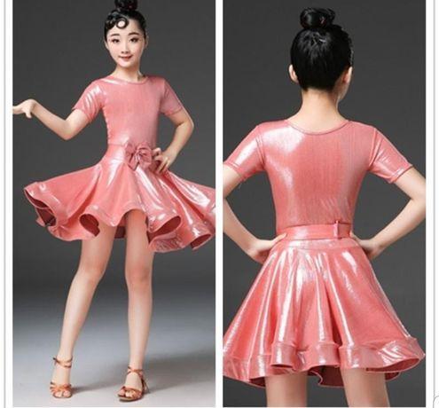 Sukienka do tańca towarzyskiego rozmiar 140