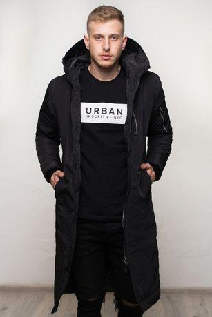 Парка куртка длинная Мужская зимняя до -25 С