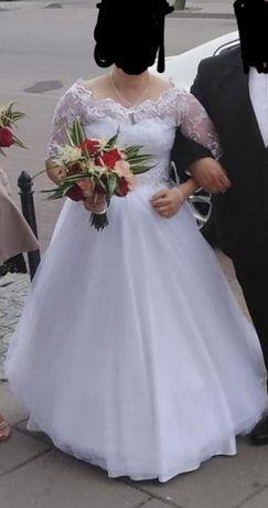 Suknia ślubna 34r