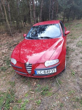 Alfa Romeo 147 1.6 16V maska skrzynia drzwi fotele klapa zderzak