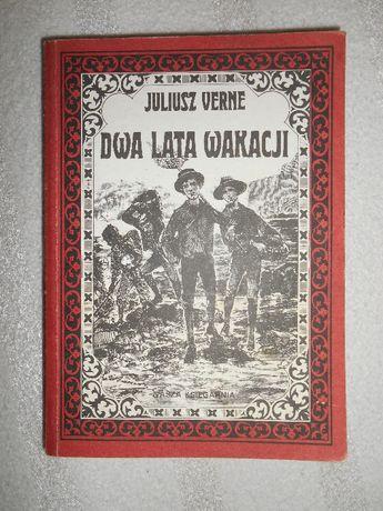 Juliusz Verne - Dwa Lata Wakacji książka przygodowa