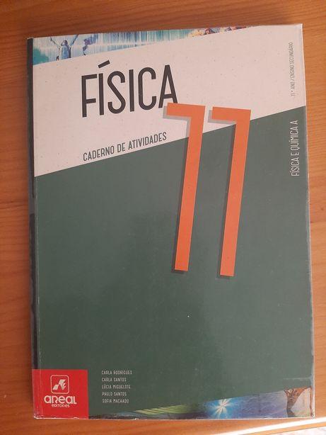 Caderno de atividades de Física 11 ano