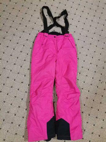 Детские лыжные термо штаны р. 140