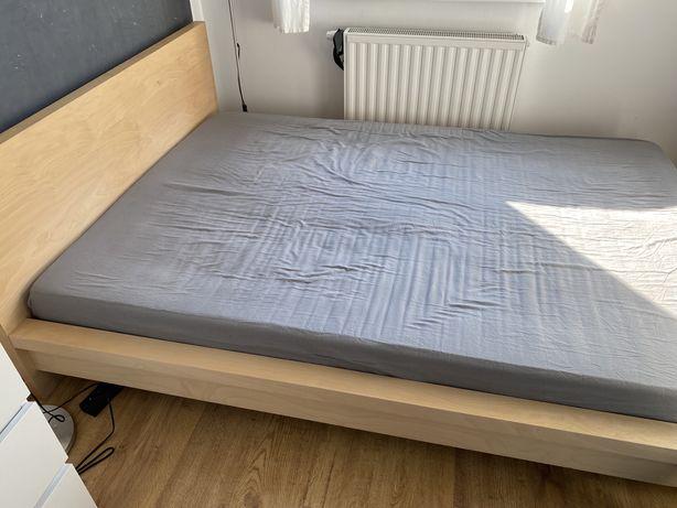 Rama łóżka Malm Ikea 140x200rozmiar materaca