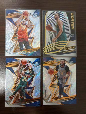 Karty NBA Utah Jazz -Mitchell, Gobert, Conley- Panini Revolution 2019