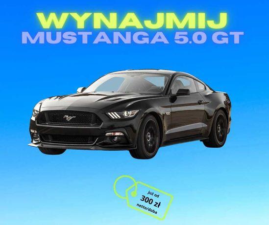 Wynajem Ford MUSTANG GT 5.0 V8 - na doby oraz okoliczności/wesela