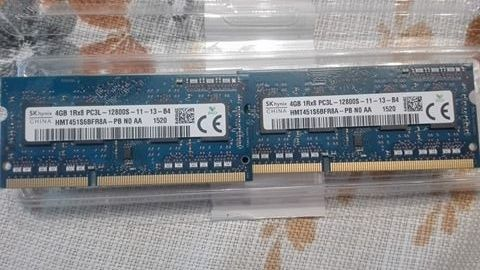 DDR3 2x4GB pamięć laptop