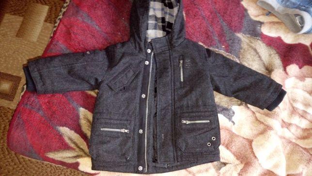Дитяче зимове пальтечко для хлопчика