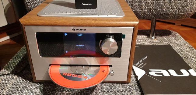Radio internetowe Auna Silver Star CD Cube